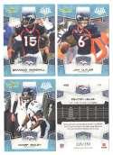 2008 Score Super Bowl XLIII GLOSSY Team set - DENVER BRONCOS