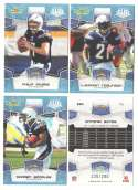 2008 Score Super Bowl XLIII GLOSSY Team set - SAN DIEGO CHARGERS