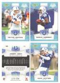 2008 Score Super Bowl XLIII GLOSSY Team set - INDIANAPOLIS COLTS