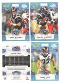 2008 Score Super Bowl XLIII GLOSSY Team set - ST. LOUIS RAMS