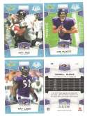 2008 Score Super Bowl XLIII GLOSSY Team set - BALTIMORE RAVENS