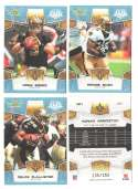 2008 Score Super Bowl XLIII GLOSSY Team set - NEW ORLEANS SAINTS