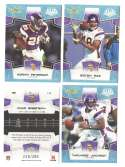 2008 Score Super Bowl XLIII GLOSSY Team set - MINNESOTA VIKINGS