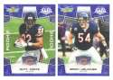 2008 Score Super Bowl XLIII BLUE Team set - CHICAGO BEARS
