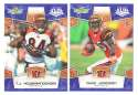 2008 Score Super Bowl XLIII BLUE Team set - CINCINNATI BENGALS