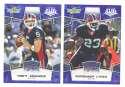 2008 Score Super Bowl XLIII BLUE Team set - BUFFALO BILLS