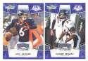 2008 Score Super Bowl XLIII BLUE Team set - DENVER BRONCOS