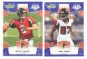 2008 Score Super Bowl XLIII BLUE Team set - ATLANTA FALCONS