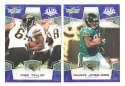 2008 Score Super Bowl XLIII BLUE Team set - JACKSONVILLE JAGUARS