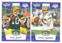 2008 Score Super Bowl XLIII BLUE Team set - GREEN BAY PACKERS