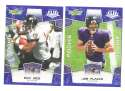 2008 Score Super Bowl XLIII BLUE Team set - BALTIMORE RAVENS