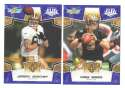 2008 Score Super Bowl XLIII BLUE Team set - NEW ORLEANS SAINTS