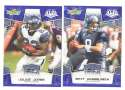 2008 Score Super Bowl XLIII BLUE Team set - SEATTLE SEAHAWKS