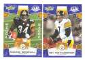 2008 Score Super Bowl XLIII BLUE Team set - PITTSBURGH STEELERS