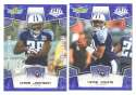 2008 Score Super Bowl XLIII BLUE Team set - TENNESSEE TITANS