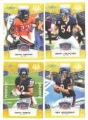 2008 Score Super Bowl XLIII GOLD Team set - CHICAGO BEARS