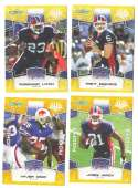 2008 Score Super Bowl XLIII GOLD Team set - BUFFALO BILLS