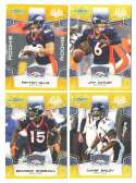 2008 Score Super Bowl XLIII GOLD Team set - DENVER BRONCOS