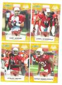 2008 Score Super Bowl XLIII GOLD Team set - ARIZONA CARDINALS