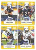 2008 Score Super Bowl XLIII GOLD Team set - SAN DIEGO CHARGERS