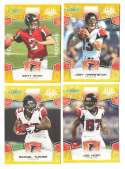 2008 Score Super Bowl XLIII GOLD Team set - ATLANTA FALCONS
