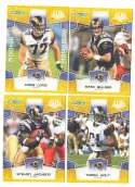 2008 Score Super Bowl XLIII GOLD Team set - ST. LOUIS RAMS