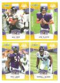 2008 Score Super Bowl XLIII GOLD Team set - BALTIMORE RAVENS