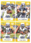2008 Score Super Bowl XLIII GOLD Team set - SEATTLE SEAHAWKS