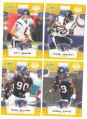 2008 Score Super Bowl XLIII GOLD Team set - HOUSTON TEXANS