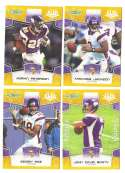 2008 Score Super Bowl XLIII GOLD Team set - MINNESOTA VIKINGS