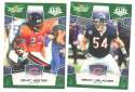 2008 Score Super Bowl XLIII GREEN Team set - CHICAGO BEARS