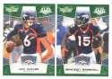 2008 Score Super Bowl XLIII GREEN Team set - DENVER BRONCOS