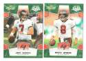 2008 Score Super Bowl XLIII GREEN Team set - TAMPA BAY BUCCANEERS