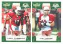 2008 Score Super Bowl XLIII GREEN Team set - ARIZONA CARDINALS