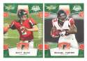 2008 Score Super Bowl XLIII GREEN Team set - ATLANTA FALCONS