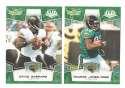 2008 Score Super Bowl XLIII GREEN Team set - JACKSONVILLE JAGUARS