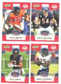 2008 Score Super Bowl XLIII RED Team set - CHICAGO BEARS