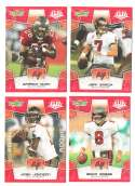 2008 Score Super Bowl XLIII RED Team set - TAMPA BAY BUCCANEERS