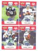 2008 Score Super Bowl XLIII RED Team set - DALLAS COWBOYS