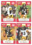 2008 Score Super Bowl XLIII RED Team set - PITTSBURGH STEELERS