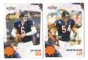 2010 Score Football Team Set - CHICAGO BEARS