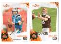 2010 Score Football Team Set - CLEVELAND BROWNS