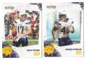 2010 Score Football Team Set - SAN DIEGO CHARGERS