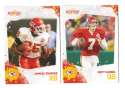 2010 Score Football Team Set - KANSAS CITY CHIEFS