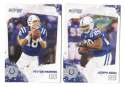 2010 Score Football Team Set - INDIANAPOLIS COLTS
