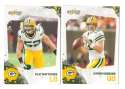 2010 Score Football Team Set - GREEN BAY PACKERS