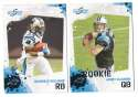 2010 Score Football Team Set - CAROLINA PANTHERS