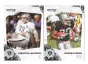 2010 Score Football Team Set - OAKLAND RAIDERS