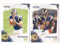 2010 Score Football Team Set - ST. LOUIS RAMS