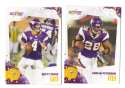 2010 Score Football Team Set - MINNESOTA VIKINGS